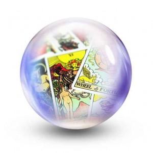 tarot glass ball